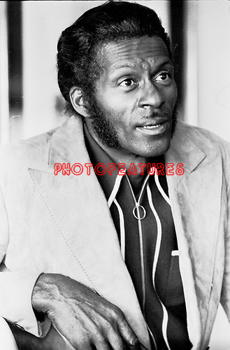 Chuck Berry 1970's<br /> © Chris Walter