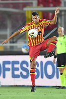 Nehuen Paz of US Lecce in action during the Serie A football match between US Lecce and UC Sampdoria at Via del Mare stadium in Lecce ( Italy ), July 1st, 2020. Play resumes behind closed doors following the outbreak of the coronavirus disease. <br /> Photo Carmelo Imbesi / Insidefoto