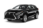 2016 Lexus RX F SPORT 5 Door Suv 2WD Angular Front stock photos of front three quarter view