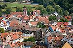 Deutschland, Bayern, Mittelfranken, Naturpark Altmuehltal, Treuchtlingen: Blick ueber die Altstadt | Germany, Bavaria, Middle Franconia, Nature Park Altmuehl Valley, Treuchtlingen: view across Old Town