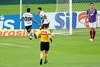 16th November 2020; Couto Pereira Stadium, Curitiba, Brazil; Brazilian Serie A, Coritiba versus Bahia; Giovanne Augusto of Coritiba celebrates his goal in the 3rd minute 1-0