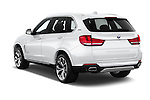 Car pictures of rear three quarter view of 2018 BMW X5 xDrive40e 5 Door SUV Angular Rear