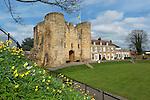 Great Britain, England, Kent, Tonbridge: Tonbridge Castle | Grossbritannien, England, Kent, Tonbridge: Tonbridge Castle, erbaut im 11. Jahrhundert von dem Edelmann Richard Fitzgilbert