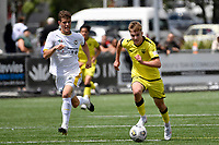 Benjamin Old of the Wellington Phoenix during the ISPS Handa Men's Premiership - Wellington Phoenix v Eastern Suburbs at Fraser Park, Wellington on Saturday 28 November 2020.<br /> Copyright photo: Masanori Udagawa /  www.photosport.nz