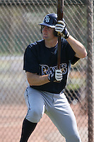 March 19th 2008:  Seth Dhaenens of the Tampa Bay Devil Rays minor league system during Spring Training at the Raymond A. Naimoli Complex in St. Petersburg, FL.  Photo by:  Mike Janes/Four Seam Images