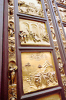 "Detail of """"Doors of Paradise"