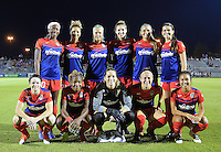 Boyds, MD - Wednesday Sept. 07, 2016: Washington Spirit starting eleven during a regular season National Women's Soccer League (NWSL) match between the Washington Spirit and the Seattle Reign FC at Maureen Hendricks Field, Maryland SoccerPlex.
