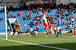 Chesterfield 1 Accrington Stanley 2, 16/09/2017. Proact Stadium, League Two. Goal scored by  Billy Kee of Accrington Stanley,  Photo by Paul Thompson.