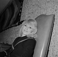 L'actrice francaise Myreille darc<br /> , date inconnue <br /> <br /> <br /> PHOTO :  Agence Quebec Presse - Roland Lachance