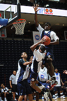 Angelo Chol handles the ball during the 2009 NBPA Top 100 Basketball Camp held Friday June 17- 20, 2009 in Charlottesville, VA. Photo/ Andrew Shurtleff.