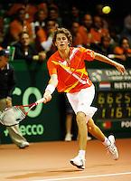 21-9-07, Netherlands, Rotterdam, Daviscup NL-Portugal, Robin Haase