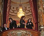 """ISABELLA RAUTI E PATRIZIA DE BLANCK SUL PALCO REALE  <br /> PRIMA DE """"LA TRAVIATA"""" TEATRO DELL'OPERA DI ROMA 2009"""