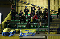 Haringey fans look on during Haringey Borough vs Potters Bar Town, Pitching In Isthmian League Premier Division Football at Coles Park Stadium on 28th September 2021