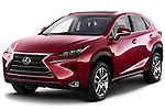 2015 Lexus NX NX 200t 5 Door SUV Angular Front stock photos of front three quarter view