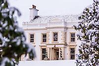Galgorm Resort in the snow