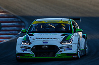 #29 Bryan Herta Autosport w/ Curb Agajanian Hyundai Veloster N TCR, TCR: Parker Chase, Spencer Brockman