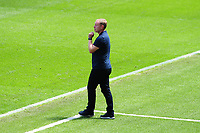 Steve Cooper Head Coach of Swansea City during the Sky Bet Championship match between Swansea City and Leeds United at the Liberty Stadium in Swansea, Wales, UK. Sunday 12 July 2020