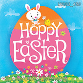 Sarah, EASTER, OSTERN, PASCUA, paintings+++++HappyEaster-17-A,USSB450,#e#, EVERYDAY
