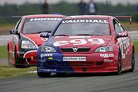 Round 4 of the 2002 British Touring Car Championship. #0 Matt Neal (GBR). Egg Sport. Vauxhall Astra Coupé.