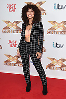 """LONDON, UK. October 09, 2019: Alondra Martinez (V5) at the photocall for """"The X Factor: Celebrity"""", London.<br /> Picture: Steve Vas/Featureflash"""