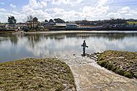 2018 03 20 River Teifi where Kiara Moore died in Cardigan, Wales, UK