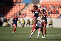 Houston, TX - Sunday Oct. 09, 2016: Francisca Ordega during a National Women's Soccer League (NWSL) Championship match between the Washington Spirit and the Western New York Flash at BBVA Compass Stadium.