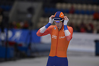 SPEEDSKATING: 22-11-2019 Tomaszów Mazowiecki (POL), ISU World Cup Arena Lodowa, 3000m Ladies Division A, Carlijn Achtereekte (NED), ©photo Martin de Jong