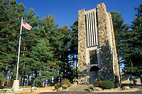 bell tower, Rindge, New Hampshire, NH, Memorial Bell Tower at Cathedral of the Pines in the autumn.