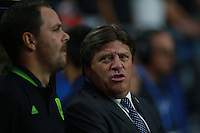 Miguel Herrera técnico  de Mexico ,durante partido entre las selecciones de Mexico y Guatemala  de la Copa Oro CONCACAF 2015. Estadio de la Universidad de Arizona.<br /> Phoenix Arizona a 12 de Julio 2015.