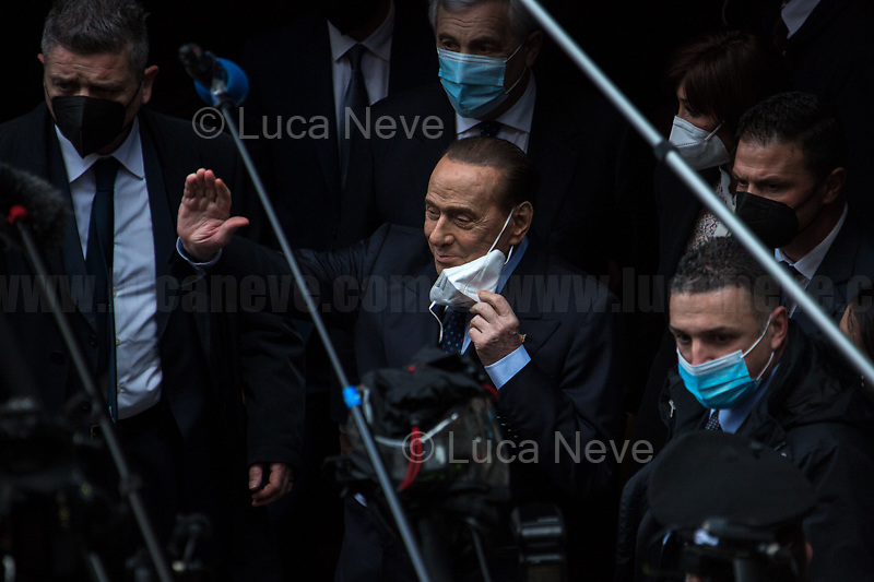 Silvio Berlusconi.<br />