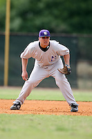 February 22, 2009:  First baseman Paul Snieder (52) of Northwestern University during the Big East-Big Ten Challenge at Naimoli Complex in St. Petersburg, FL.  Photo by:  Mike Janes/Four Seam Images