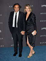 LOS ANGELES, USA. November 03, 2019: Alejandro Gonzalez Inarritu & Maria Eladia Hagerman at the LACMA 2019 Art+Film Gala at the LA County Museum of Art.<br /> Picture: Paul Smith/Featureflash