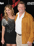 Ryan O'Neal & date  at APPARITION'S L.A. Premiere of The Runaways held at The Arclight Cinerama Dome in Hollywood, California on March 11,2010                                                                   Copyright 2010 DVS / RockinExposures..