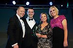 Pix: Shaun Flannery/shaunflanneryphotography.com...COPYRIGHT PICTURE>>SHAUN FLANNERY>01302-570814>>07778315553>>..13th December 2012..Doncaster Chamber Business Awards 2012...Marketing Strategy of the Year Award..Crown Hotel.