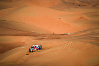 304 De Villiers Giniel (zaf), Haro Bravo Alex (esp), Toyota Hilux, Toyota Gazoo Racing, Auto, Car, action during Stage 11 of the Dakar 2020  <br /> Rally Dakar <br /> 16/01/2020 <br /> Photo DPPI / Panoramic / Insidefoto