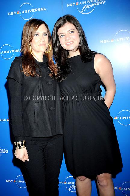WWW.ACEPIXS.COM . . . . .....May 12, 2008. New York City.....Actresses Kristen Wiig and Casey Wilson attend the NBC Universal Experience at Rockefeller Center.  ....Please byline: Kristin Callahan - ACEPIXS.COM..... *** ***..Ace Pictures, Inc:  ..Philip Vaughan (646) 769 0430..e-mail: info@acepixs.com..web: http://www.acepixs.com