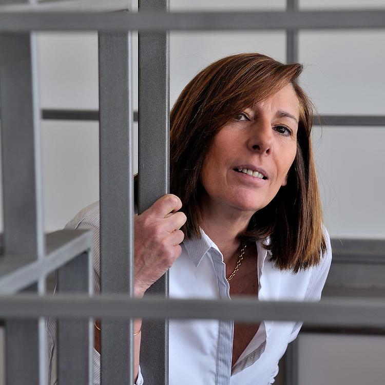 Patricia Monnier, créatrice des éditions La belle Ecriture à Marseille