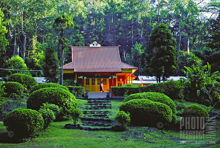 Tibetan Buddhist temple, Wood Valley, Big Island