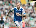 Celtic v St Johnstone …26.08.17… Celtic Park… SPFL<br />Denny Johnstone makes his debut for saints<br />Picture by Graeme Hart.<br />Copyright Perthshire Picture Agency<br />Tel: 01738 623350  Mobile: 07990 594431