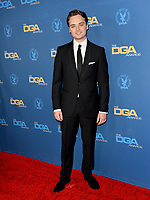LOS ANGELES, USA. January 25, 2020: Dean-Charles Chapman at the 72nd Annual Directors Guild Awards at the Ritz-Carlton Hotel.<br /> Picture: Paul Smith/Featureflash