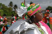 Wandelmars AVD walking on streets Paramaribo Suriname