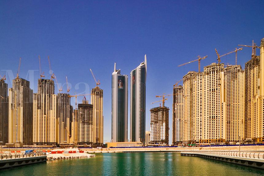 Jumeirah Residences at Dubai Marina. Dubai. United Arab Emirates.