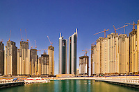 Jumeirah Residences at Dubai Marina. Dubai. United Arab Emirates.