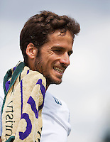 England, London, 27.06.2014. Tennis, Wimbledon, AELTC, Feliciano Lopez (ESP)<br /> Photo: Tennisimages/Henk Koster