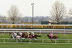 April 11, 2014: Wise Dan and jockey John Velazquez win the Maker's 46 Mile at Keeneland racecourse for owner Morton Fink and trainer Charles LoPresti.  Candice Chavez/ESW/CSM