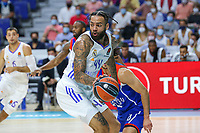 30th September 2021; Madrid, Spain:  Euroleague Basketball, Real Madrid versus Anadolu Efes Istanbul;  Jeff Taylor of team Real Madrid during the Matchday 1 between Real Madrid and Anadolu Efes Istanbul