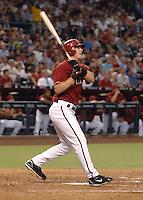 Aug 21, 2007; Phoenix, AZ, USA; Arizona Diamondbacks shortstop (6) Stephen Drew against the Milwaukee Brewers at Chase Field. Mandatory Credit: Mark J. Rebilas-US PRESSWIRE Copyright © 2007 Mark J. Rebilas