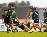 4th June 2021; Galway Sportsgrounds, Galway, Connacht, Ireland; Rainbow Cup Rugby, Connacht versus Ospreys; Sammy Arnold drives forward for Connacht
