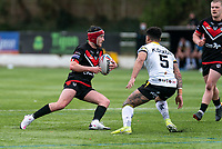 Rian Horsman of London Broncos during the Betfred Challenge Cup match between London Broncos and York City Knights at The Rock, Rosslyn Park, London, England on 28 March 2021. Photo by Liam McAvoy.