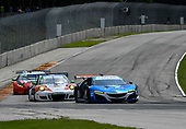 IMSA WeatherTech SportsCar Championship<br /> Continental Tire Road Race Showcase<br /> Road America, Elkhart Lake, WI USA<br /> Sunday 6 August 2017<br /> 93, Acura, Acura NSX, GTD, Andy Lally, Katherine Legge<br /> World Copyright: Richard Dole<br /> LAT Images<br /> ref: Digital Image RD_RA_2017_193